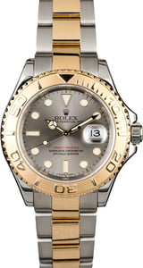 Two Tone Rolex Yacht-Master 16623 Slate Dial