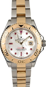 Rolex Yacht-Master 16623 MOP Ruby Dial