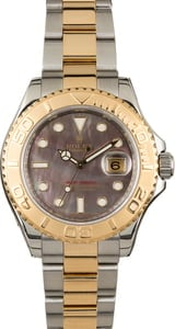 Used Rolex Yacht-Master 16623 Black Mother Of Pearl