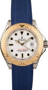 Pre Owned Rolex Yacht-Master 16623 Blue Rubber Strap