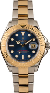 Used Rolex Yacht-Master 16623 Two Tone Blue Dial T