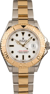 Used Rolex Used Yacht-Master 16623 Two-Tone Oyster with White Dial