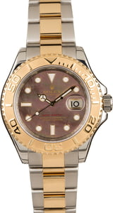 Used Rolex Yacht-Master 16623 Black Mother Of Pearl Dial