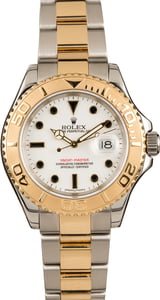 Used Rolex 16623 Yacht-Master White Dial
