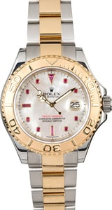 Rolex Yacht-Master 16623 Ruby Dial