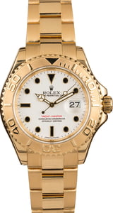 Pre Owned Rolex Yachtmaster 16628 18K Yellow Gold