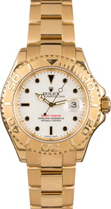 Pre-Owned Rolex Yachtmaster 16628 White Dial 40MM
