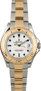 PreOwned Rolex Mid-Size Yacht-Master 168623 White Dial