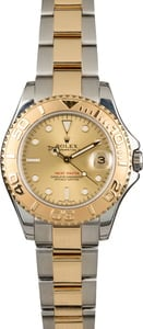 Used Rolex Yacht-Master 168623 Champagne Dial