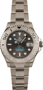 Pre-Owned Rolex Yacht-Master 268622 Rhodium Dial