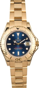 Rolex Yacht-Master 35 Mid-size 168628 Gold