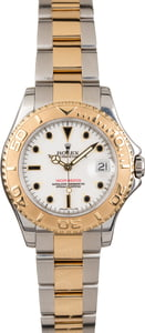 Used Rolex Mid-Size Two Tone Yachtmaster 68623