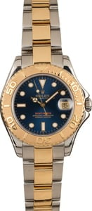 Pre-Owned Rolex Yacht-Master 68623 Blue Dial 35MM T