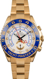 Used Rolex Yacht-Master II Ref 116688 White Dial