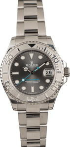 Pre-Owned Rolex Yacht-Master 268622 Dark Rhodium