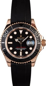 PreOwned Rolex Everose Yacht-Master 116655