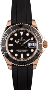 Rolex 40MM Everose Yacht-Master 116655