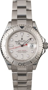 Men's Rolex Yacht-Master 16622 Platinum Luminescent Dial