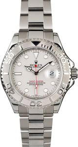 Pre Owned Rolex Men's Yachtmaster Stainless Steel and Platinum 16622