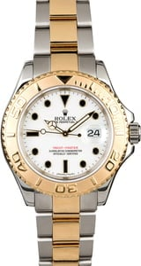Rolex Yacht-Master 16623 Two-Tone White Dial
