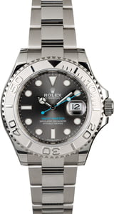 Rolex Yacht-Master 116622 Dark Rhodium Luminescent Dial