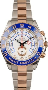Pre-Owned Rolex Yacht-Master 116681 Two Tone Everose Gold