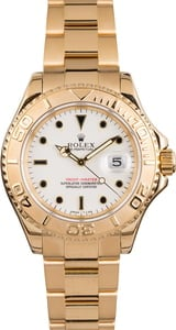 Pre Owned Rolex Yachtmaster Yellow Gold 16628