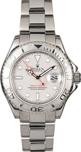 Certified Pre-Owned Rolex Yacht-Master 16622 Platinum Bezel