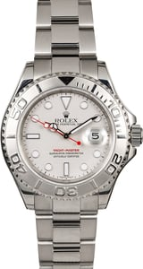 Rolex Yacht-Master 16622 Platinum Bezel Men's Watch