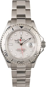 PreOwned Rolex Yacht-Master 16622 Platinum Luminescent Dial