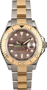 Rolex Yacht-Master 16623 Black Mother Of Pearl