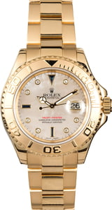 PreOwned Rolex Yacht-Master 16628 Mother of Pearl