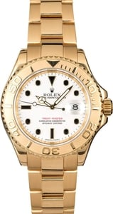 Rolex Yacht-Master 16628 18k Yellow Gold Oyster Band