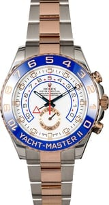 Used Rolex Yacht-Master 116681 Two Tone Everose Gold Oyster
