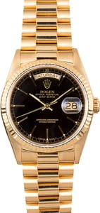 Rolex Yellow Gold Day-Date 18038 President
