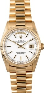 Rolex Yellow Gold President 18238