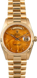 Rolex Yellow Gold Presidential 18238 Day-Date
