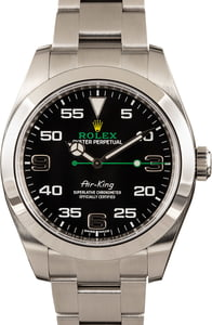 Men's Rolex Air-King 116900 Arabic Markers