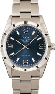 Rolex Air-King 14010 Blue