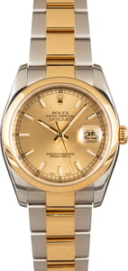 Rolex Datejust 116203 Champagne Dial