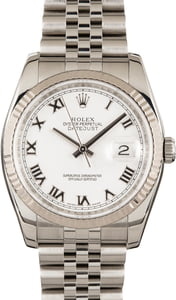 Rolex Datejust 116234 Steel Jubilee Band