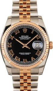 Rolex Diamond Datejust 116231 Two-Tone Everose