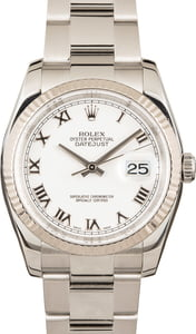 Rolex Datejust 116234 White