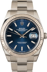 Rolex Datejust 41 126334 Blue Dial