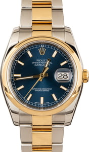 Pre-Owned Men's Rolex Datejust Watch 116203