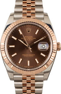 Rolex Datejust 126331 Chocolate Dial