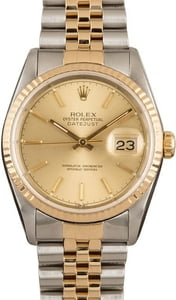 Pre Owned Datejust Rolex 16233