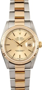 109246 Mens' Rolex Datejust Oyster 16233