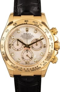 Rolex Daytona 116518 Yellow Gold