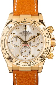Rolex Daytona 116518 Mother of Pearl Cosmograph
